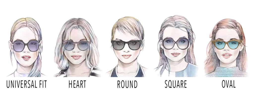 e8d9f7582d787 How to Choose the Best Eyeglasses for Your Face Shape  - Ainak.pk