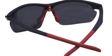 Matte Black-Red